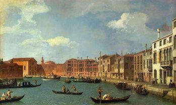 View of the Canal of Santa Chiara, Venice Festmény reprodukció