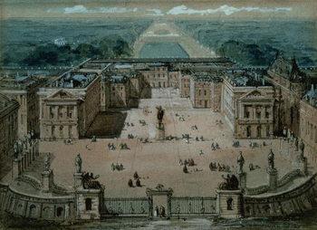 View of Versailles Festmény reprodukció