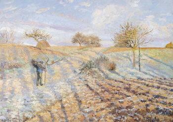 White Frost, 1873 Festmény reprodukció