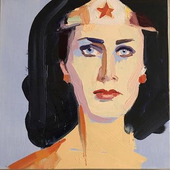 Wonder woman, 2016, Festmény reprodukció
