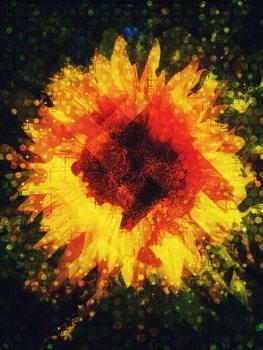You are a radiant sunflower, 2018 Festmény reprodukció