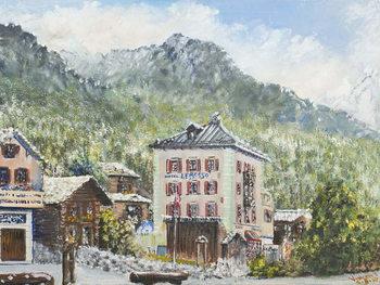 Zinal Switzerland 2007, Festmény reprodukció