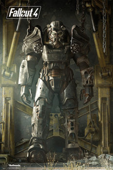 Fallout 4 – Key Art Poster - плакат (poster)