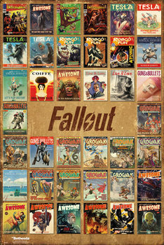 Fallout 4 - Magazine Compilation - плакат (poster)
