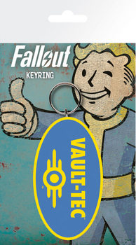 Fallout 4 - Vault Tec kulcsatartó