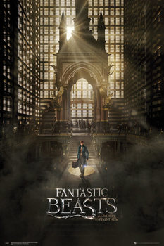 Fantastic Beasts And Where To Find Them - One Sheet 1 - плакат (poster)