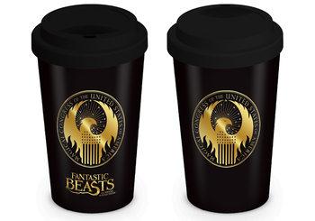 Potovalni Vrč Fantastic Beasts - Macusa Logo