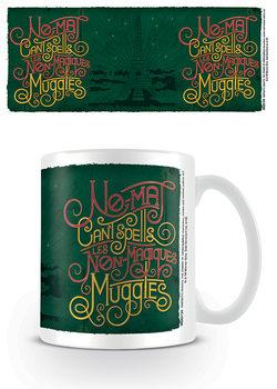 Hrnčeky Fantastické zvery: Grindelwaldove zločiny - Les Non Magiques