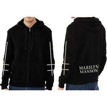 Felpa Marilyn Manson - Cross Logo