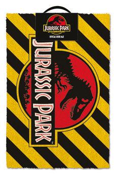 Felpudo  Jurassic Park - Warning