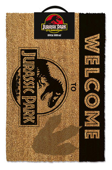 Felpudo Jurassic Park - Welcome