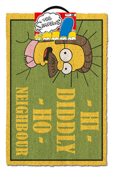 Felpudo Los Simpson - Hi Diddly Ho Neighbour