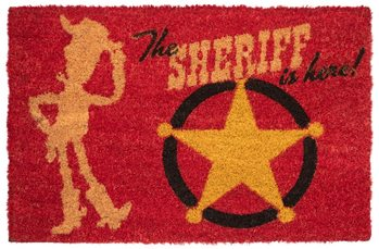 Felpudo  Toy Story - The Sheriff Is Here