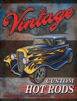 Legends - Vintage Hot Rods fémplakát