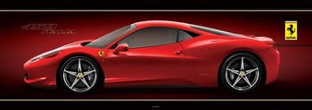 Ferrari - 458 italia - плакат (poster)