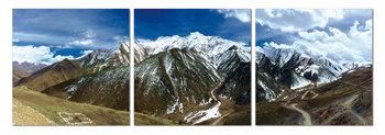 Snowcapped mountains Modern kép