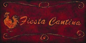 FIESTA CANTINA Festmény reprodukció