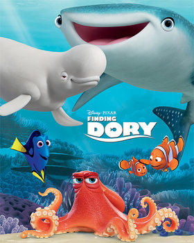 Finding Dory - Friend Group - плакат (poster)