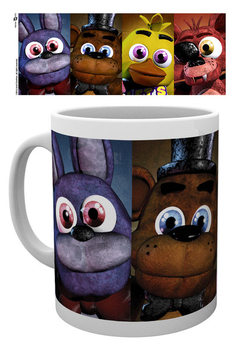 Šalice FIVE NIGHTS AT FREDDY'S - Faces