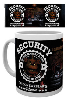 Taza Five Nights At Freddy's - Security
