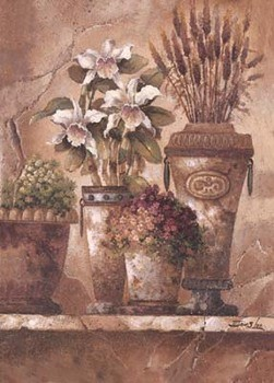 Floral Elegance I Festmény reprodukció