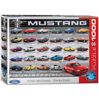 Pussel Ford Mustang Evolution