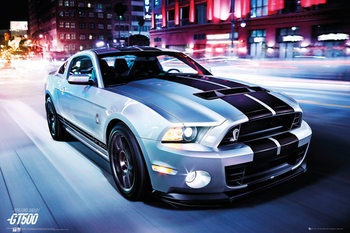 Ford Shelby - GT 500 (2014) - плакат (poster)