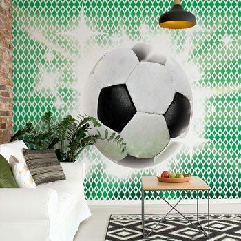 3D Football Fotobehang