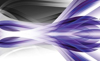 Abstract Light Pattern Purple Fotobehang