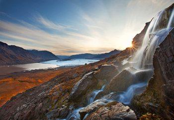 Alpine Awakening Fotobehang