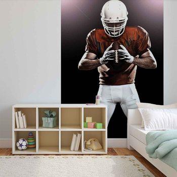 American Football Player Fotobehang