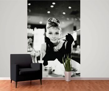 Audrey Hepburn - Breakfast at Tiffany's Fotobehang