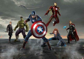 Avengers - Formation Fotobehang