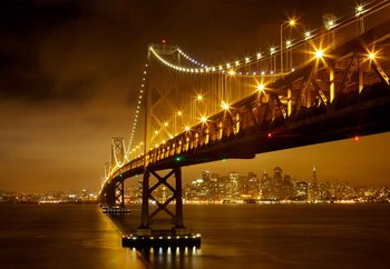 Bay Bridge Fotobehang