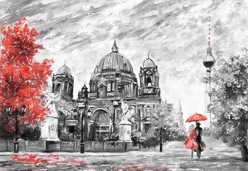 Berlin Art Painting Fotobehang