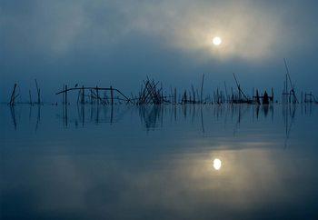 Blue Sun Fotobehang