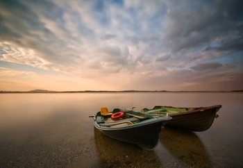 Boats Fotobehang