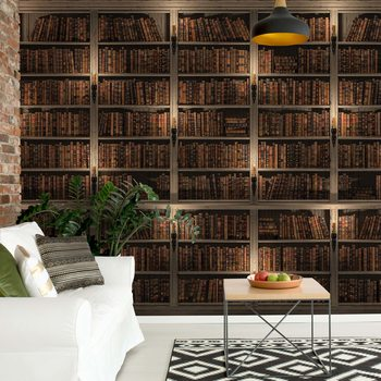 Bookshelves Fotobehang