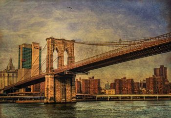 Brooklyn Bridge Fotobehang