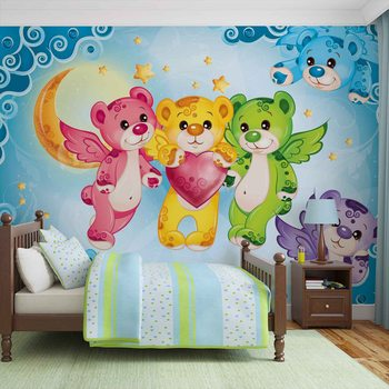 Care Bears Heart Fotobehang