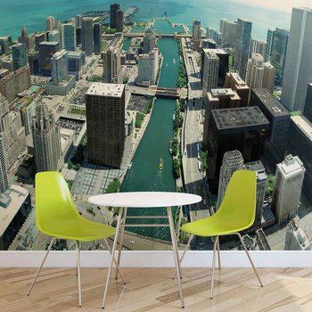 City Chicago Fotobehang