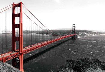 City Golden Gate Bridge Fotobehang