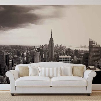 City New York Skyline Empire State Fotobehang