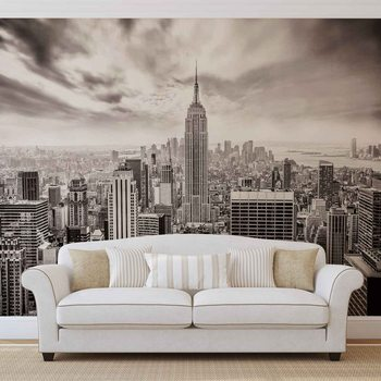 City Skyline Empire State New York Fotobehang