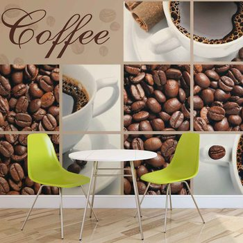 Coffee Cafe Fotobehang