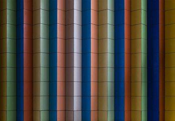 Colorful Stripes Fotobehang