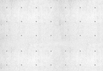 Concrete Dots Fotobehang