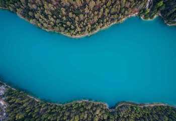 Deep Blue Fotobehang