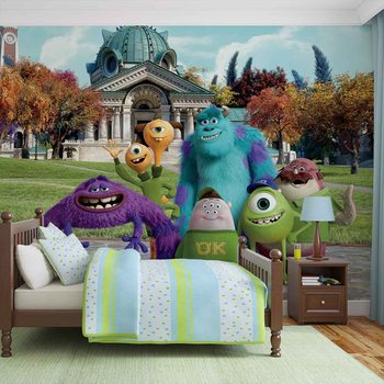 Disney Monsters Inc Fotobehang