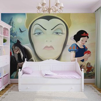 Disney Snow White Good Bad Queen Fotobehang